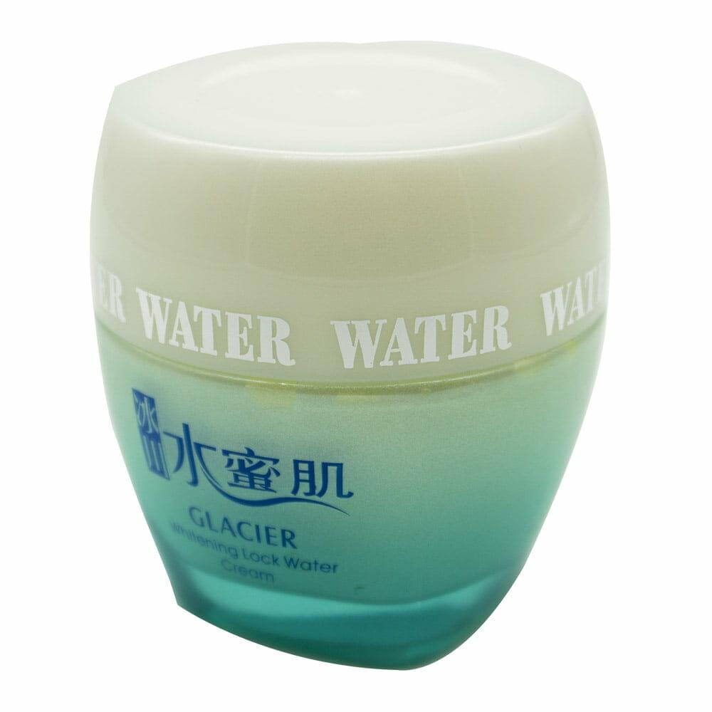 Crema hidratante / glacier whitening lock water cream / yzm-166