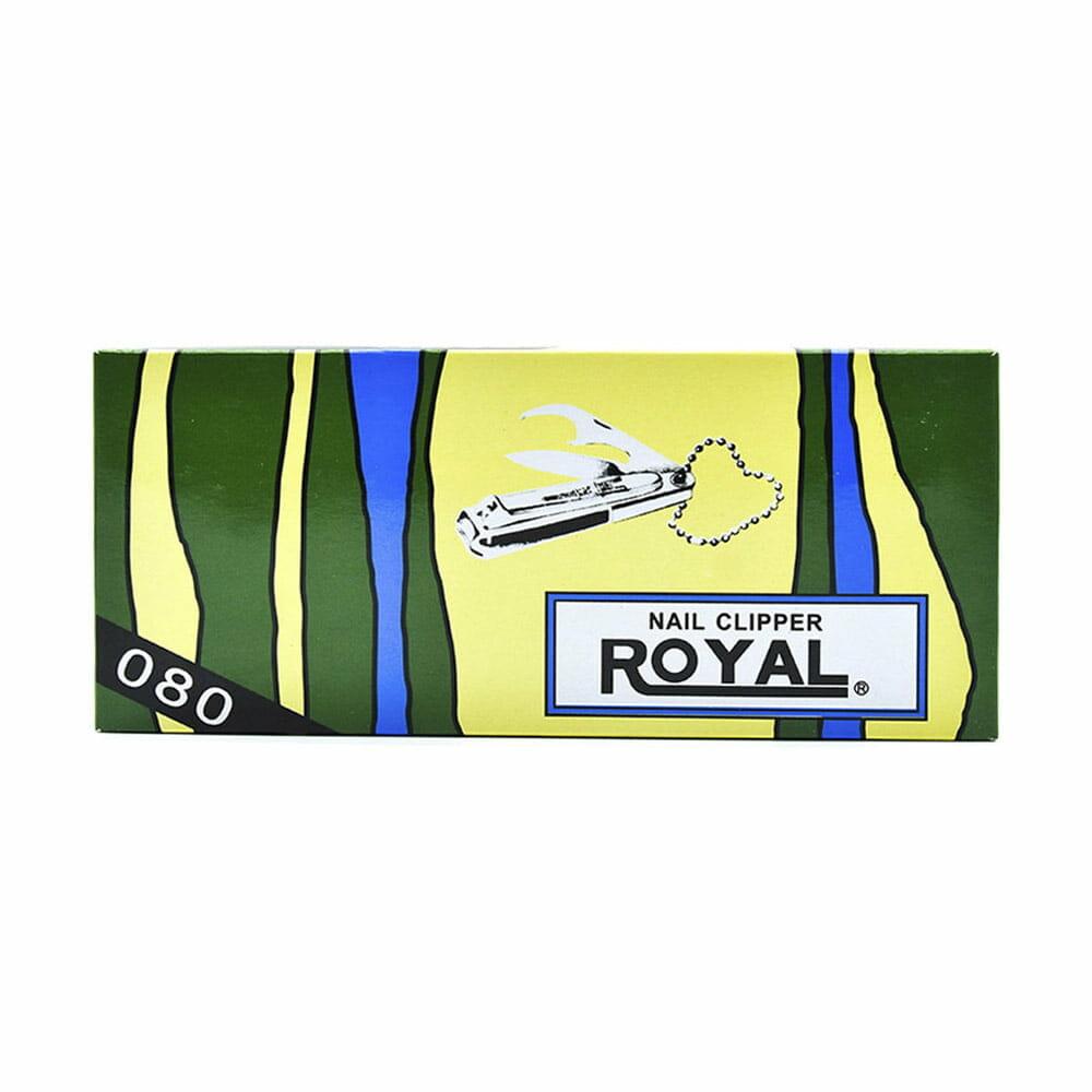 Paquete c/12pz cortauñas royal 10010057