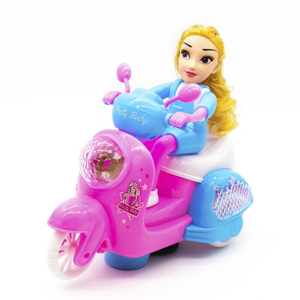 Juguete moto bebe bonita / pretty baby 0138-22