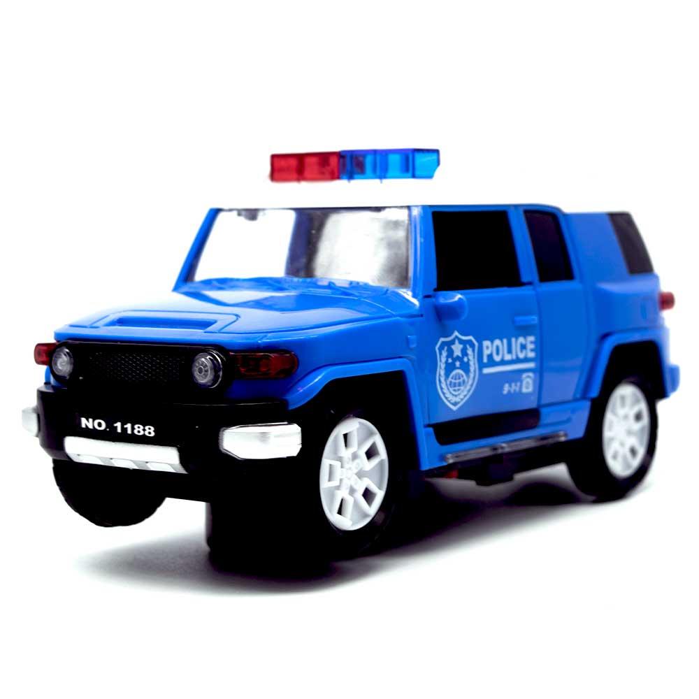 Juguete camioneta policia / police car 1188-1