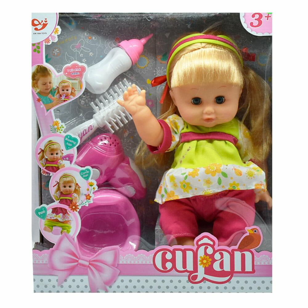 Juguete muñeca con accesorios 1299a/9099a