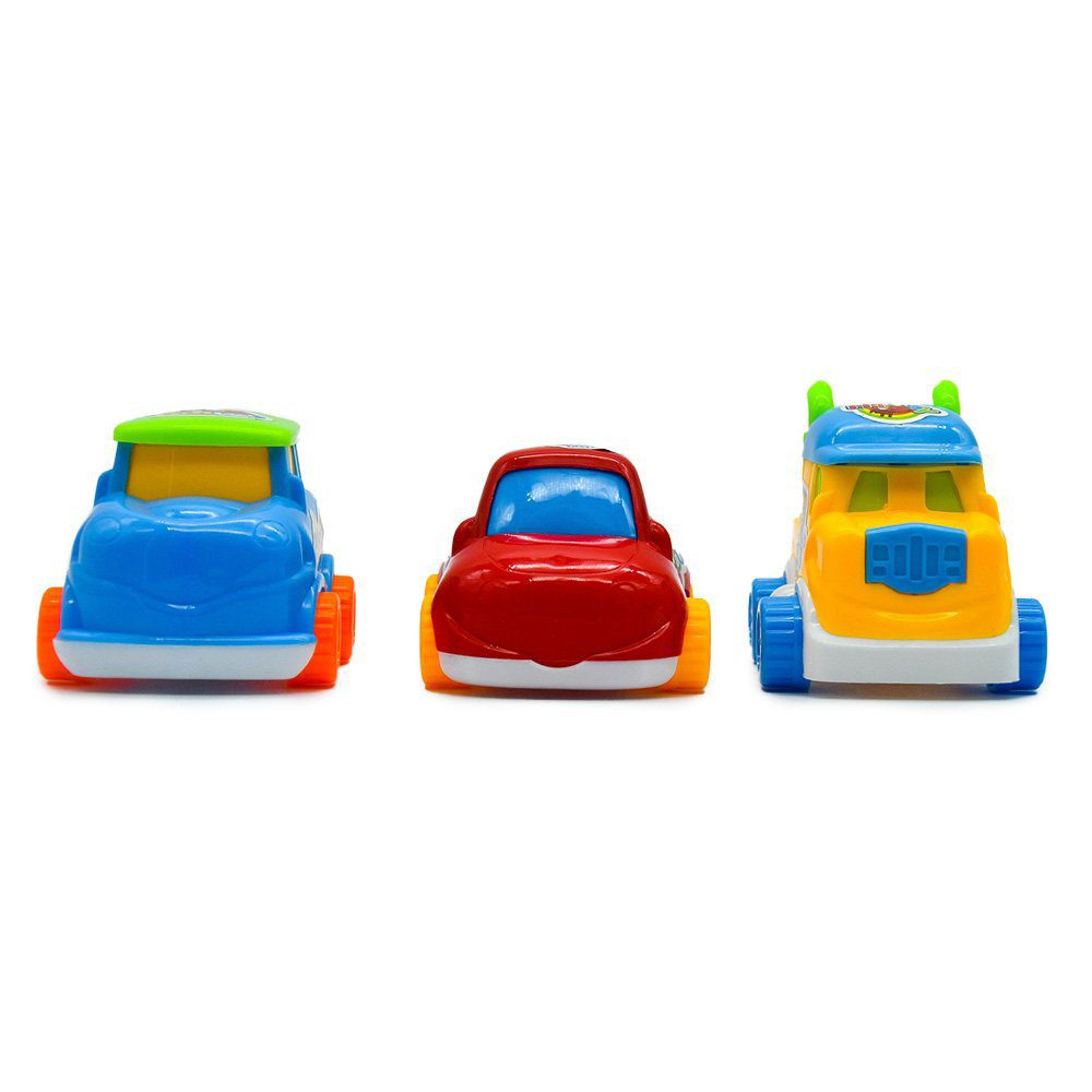 Set de carritos car friction go