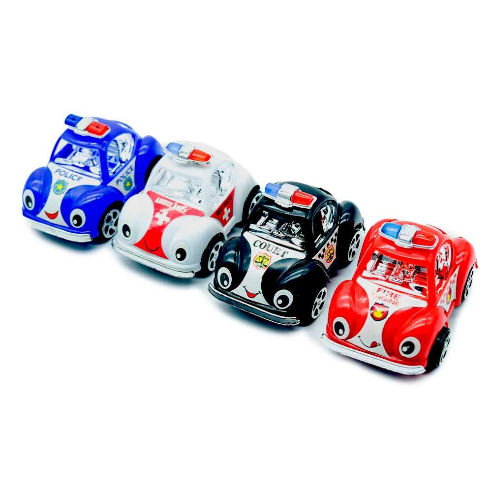 Juguete carrito de policia / toys police 4pz 139-5