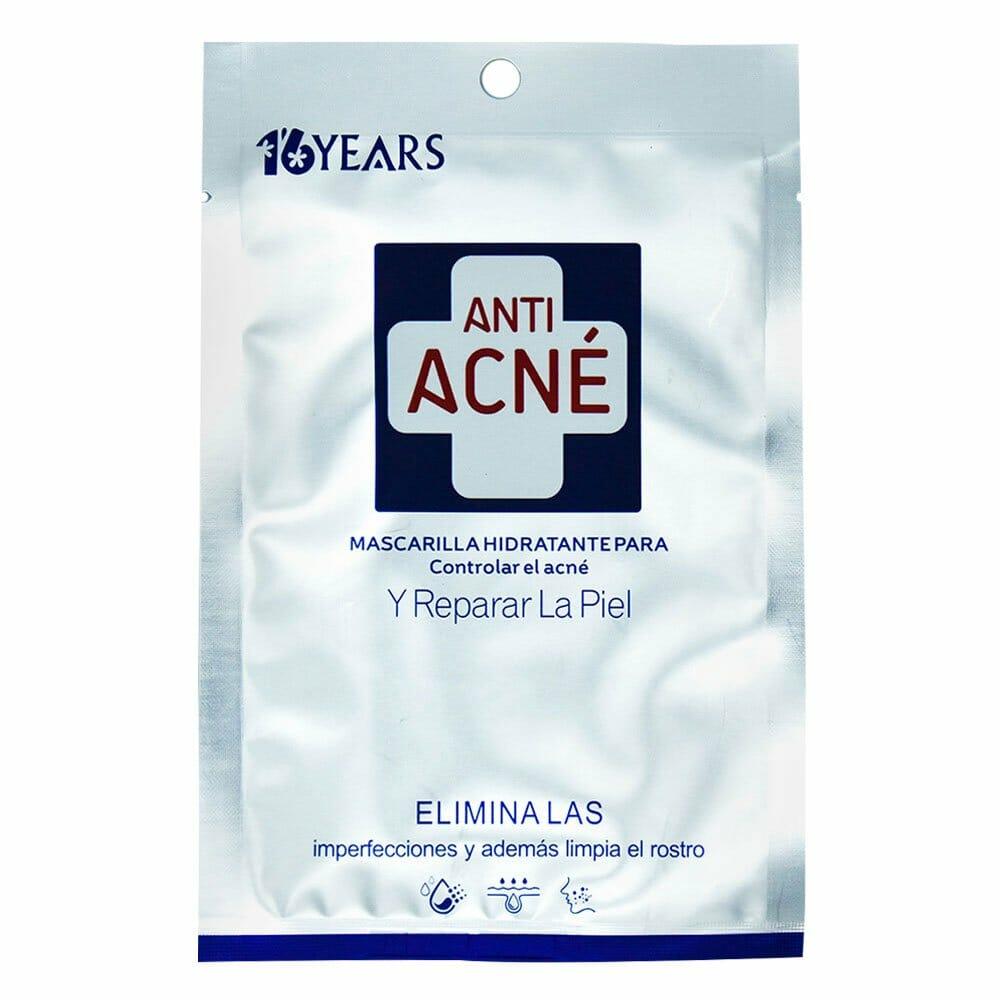 Macarilla hidratante para controlar el acne 16y15