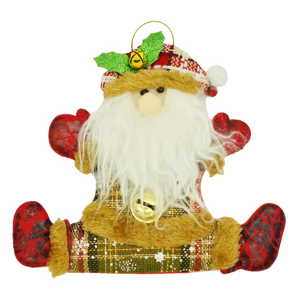 1 pza adorno navideño colgante de fieltro