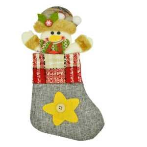 1pza mini bota navideña