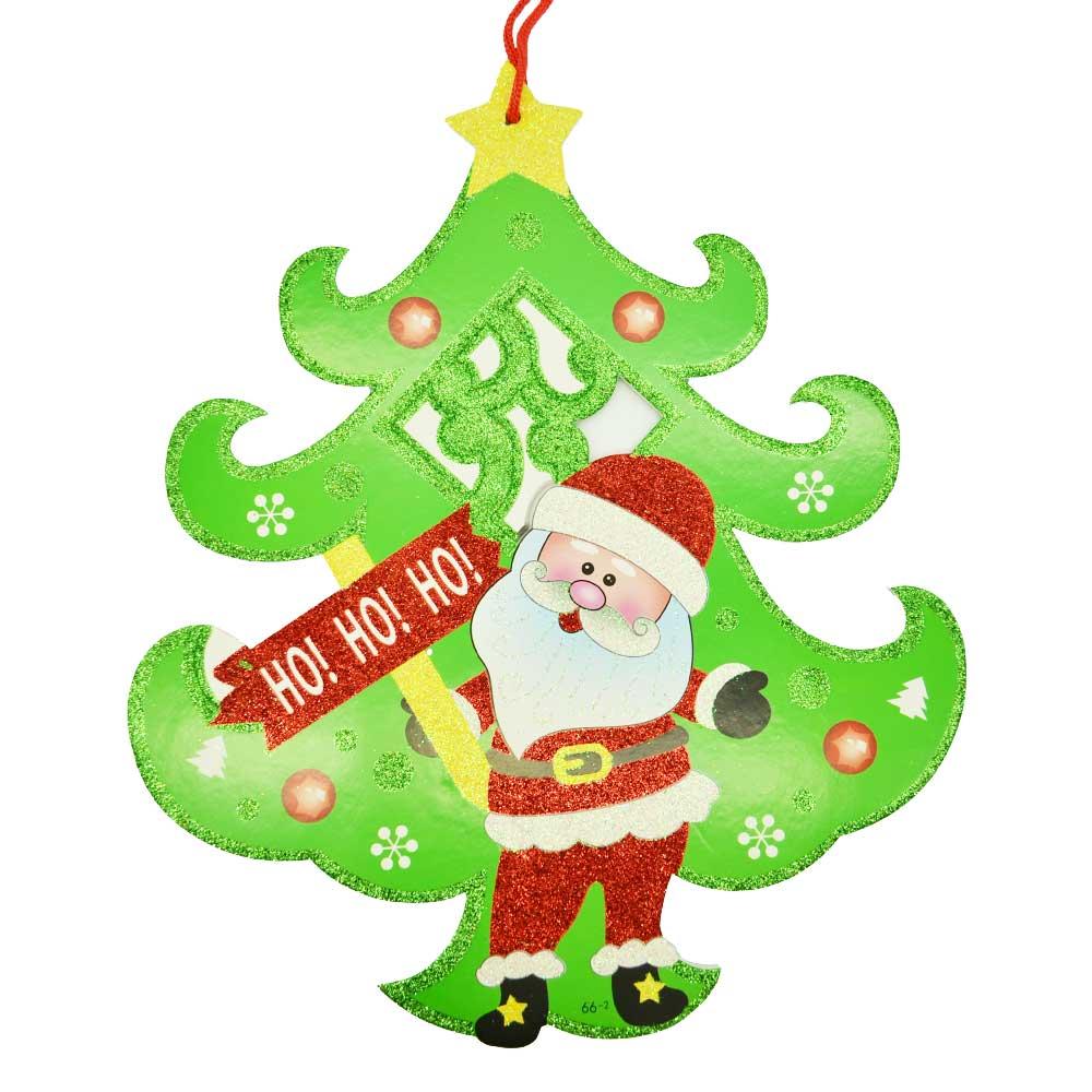1 pza adorno colgante hielo seco pino de navidad