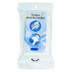 Toallas desinfectantes 12 piezas