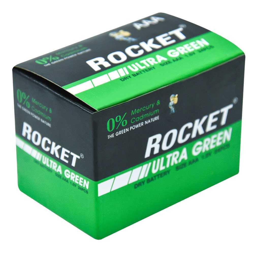 Caja pila aaa rocket 24pzas 39