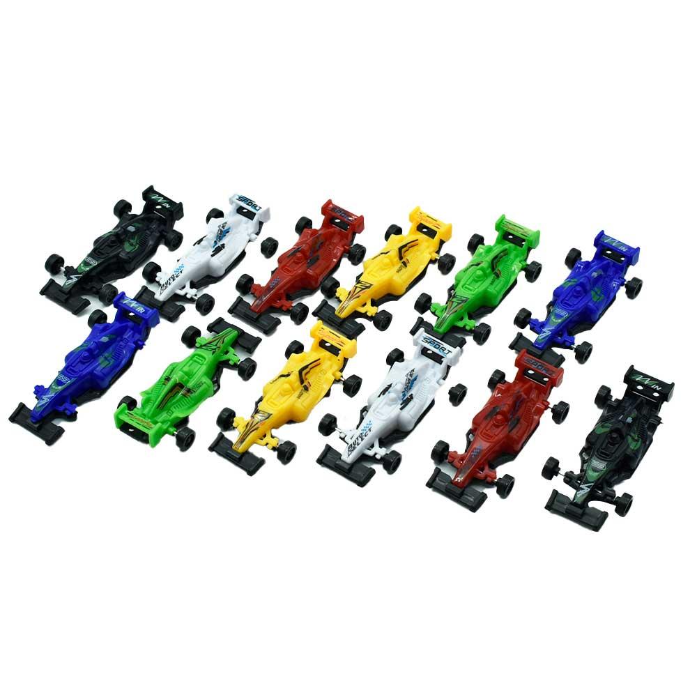 Set de carritos, 12 piezas go speed 518-12h