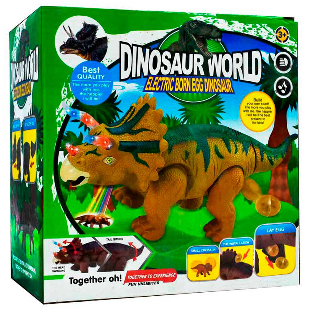 Dinosaur world 666-1a
