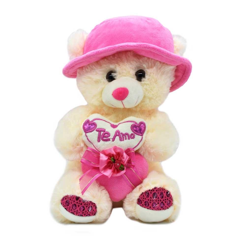 Peluche oso corazon sombrero 1631-30