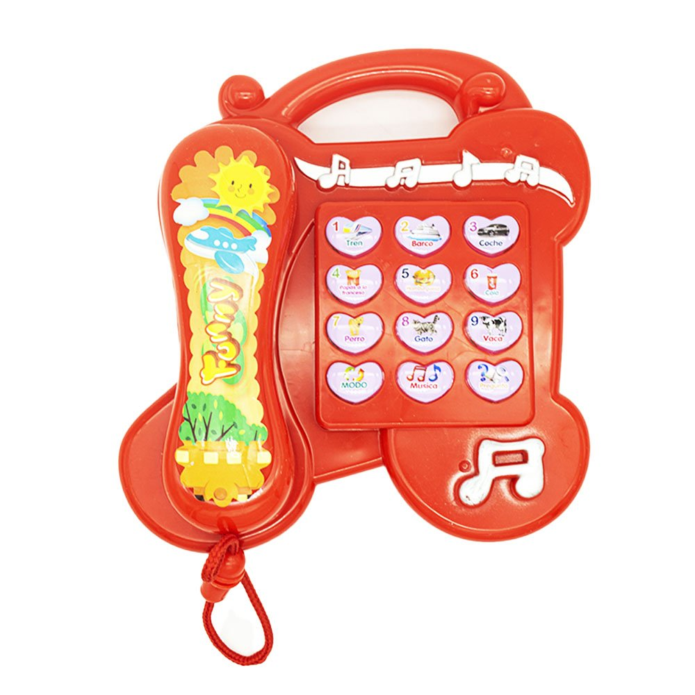 Phone learning rojo 9090