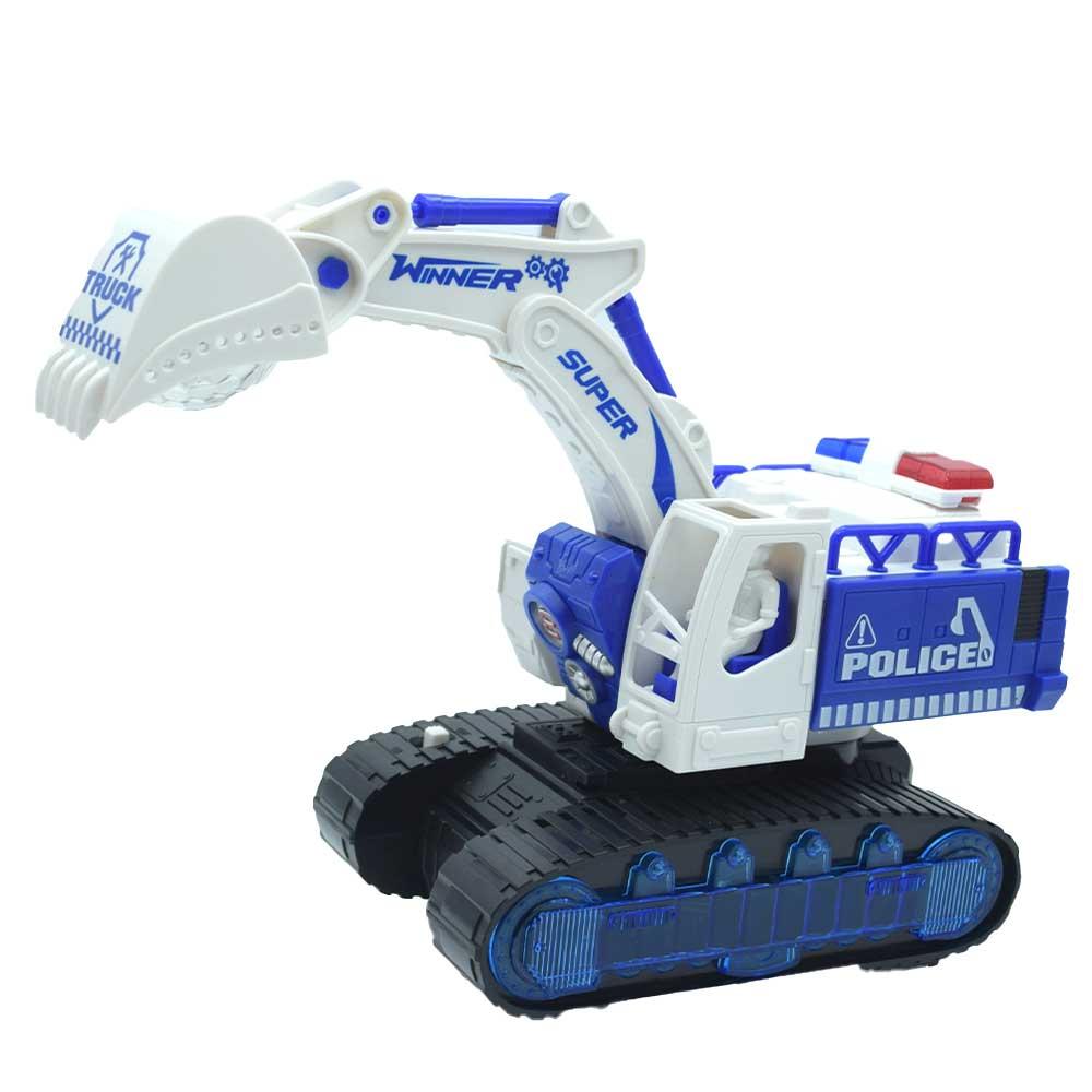 Excavator 3d 9805