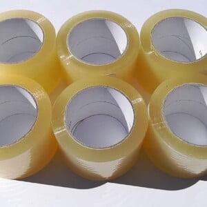 Cinta transparente empaque con 6 rollos ab-1