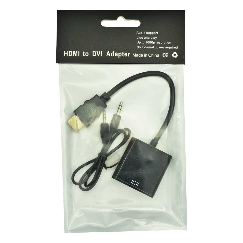 Adaptador hdmi a vga con 3.5 adapter.hdmi.dvi