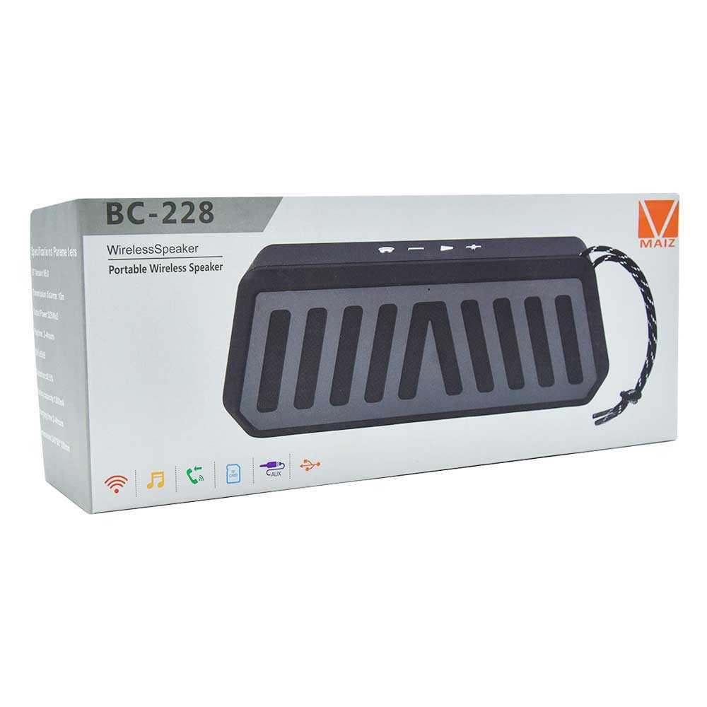 Bocina wireless speaker de colores bc-228