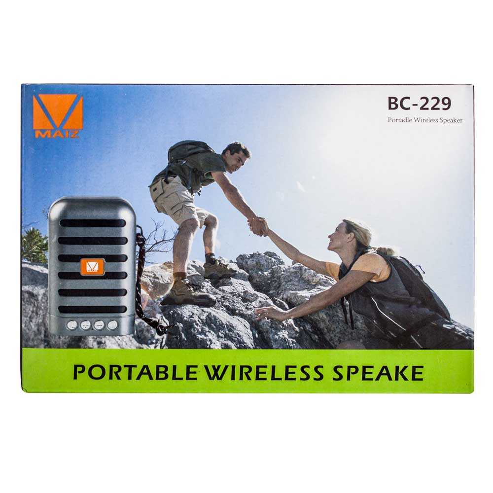 Bocina portable wireless speaker bc-229