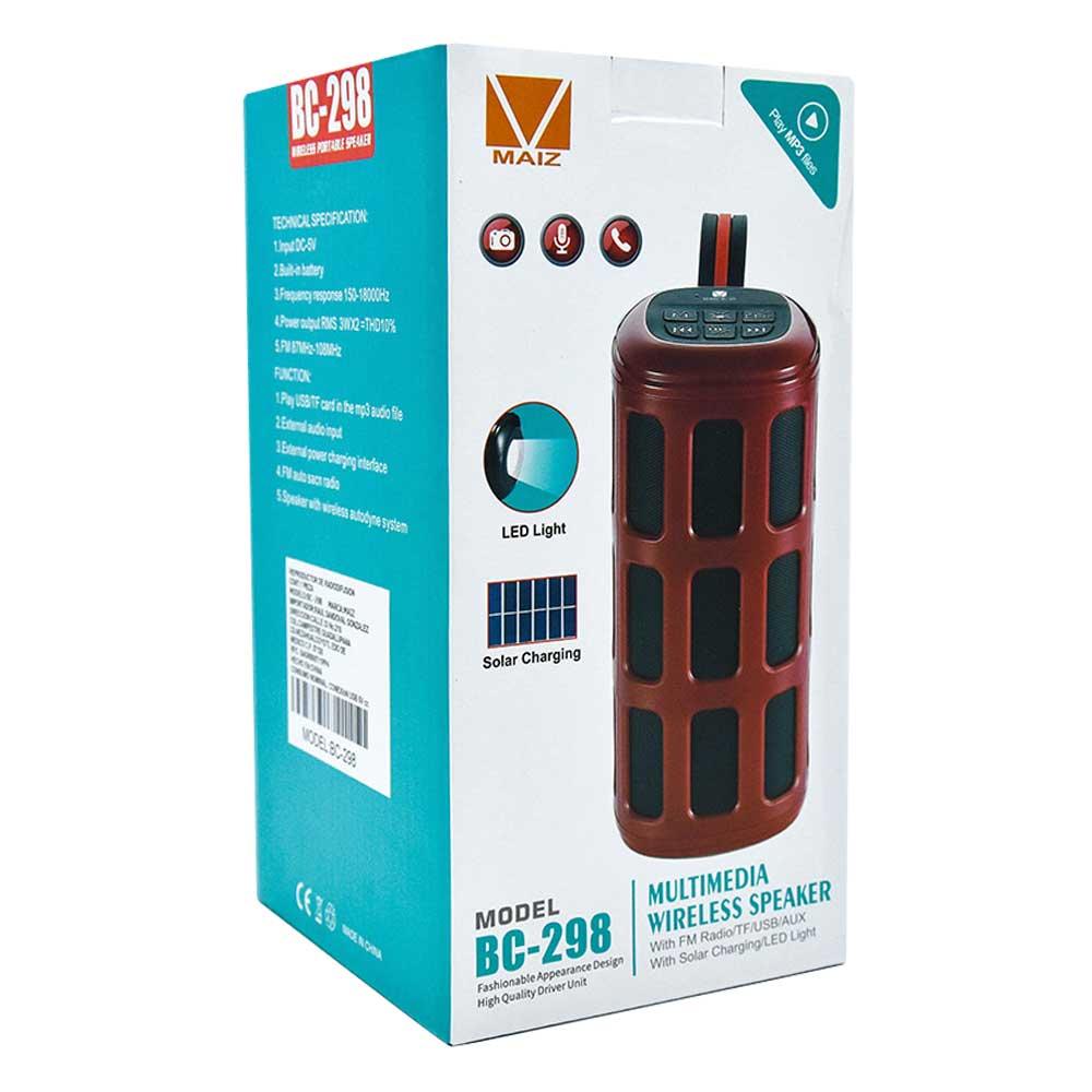 Bocina solar charging bc-298