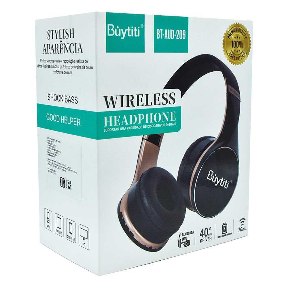 Audifonos diadema buytiti bt-aud-209