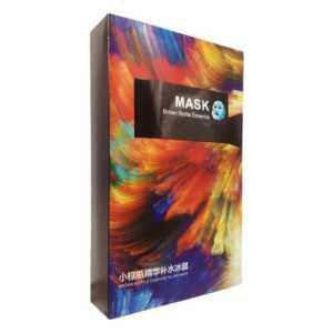 Caja con 10pza mascarilla hidratante de hielo btz7509