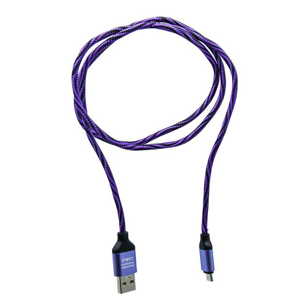 Cable rayado con entrada tipo v8 ca-090