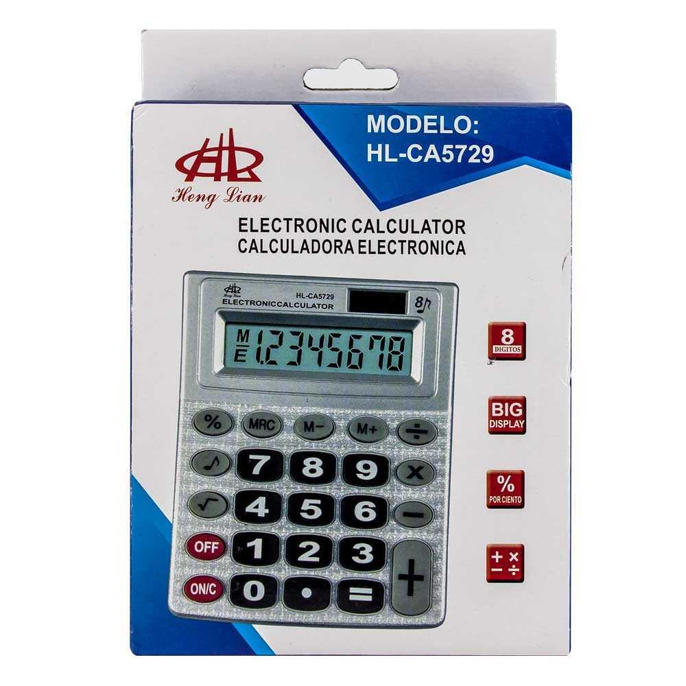 Calculadora electronica ca5729
