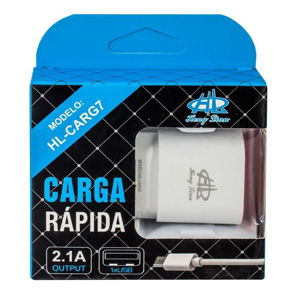 Cargador v8 carga rapida carg7