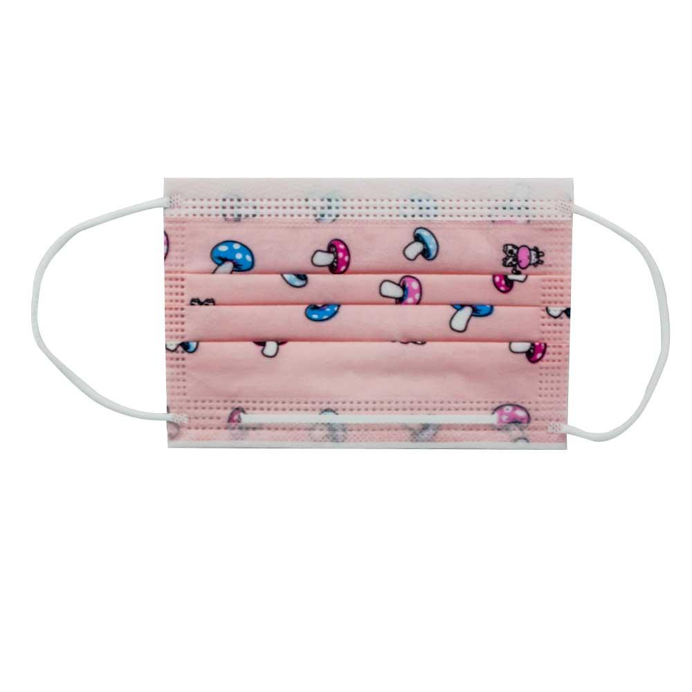 Cubrebocas tres capas con diseño con 10 piezas para niño cb.10kids