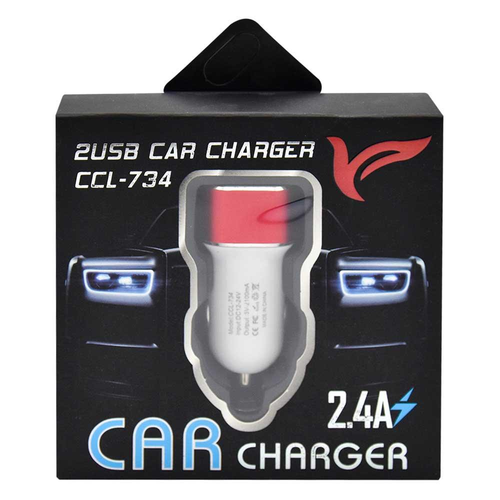 cargador para auto ccl-734