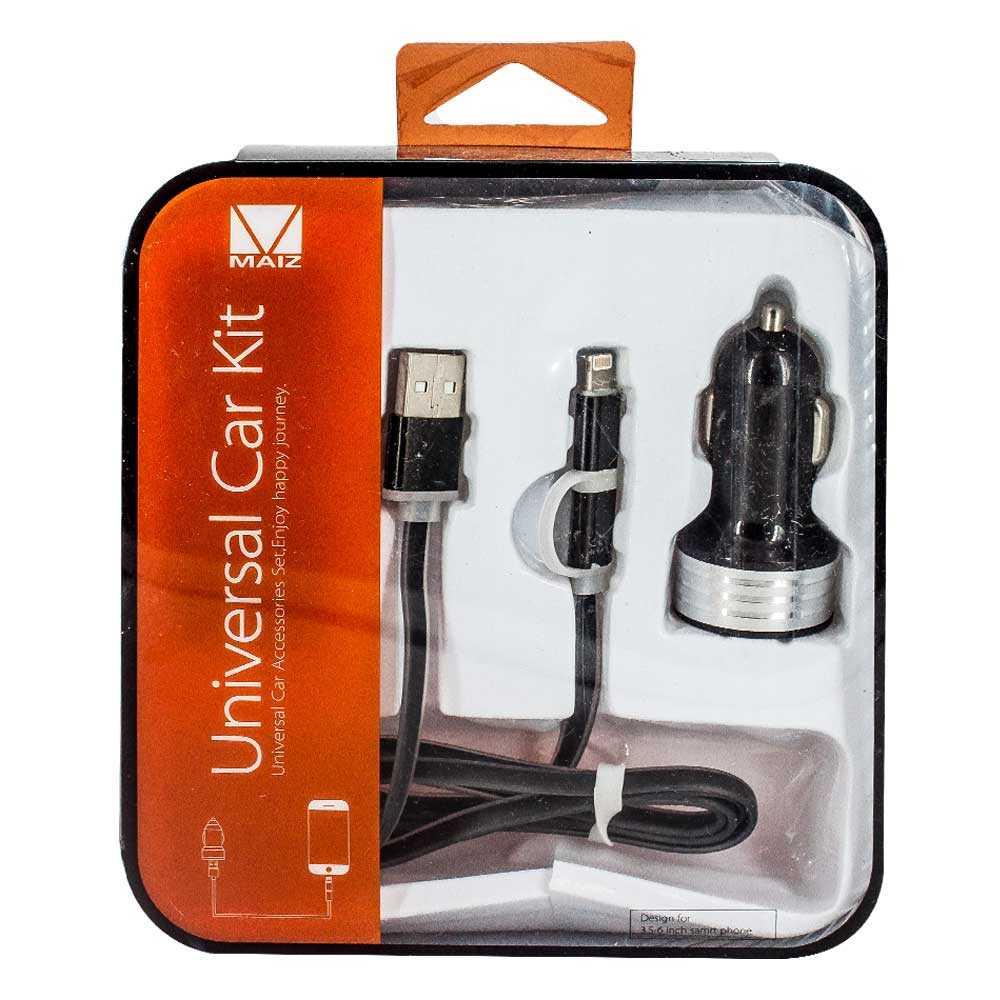 Plug con soporte para celular y cable entrada iphone ch-029