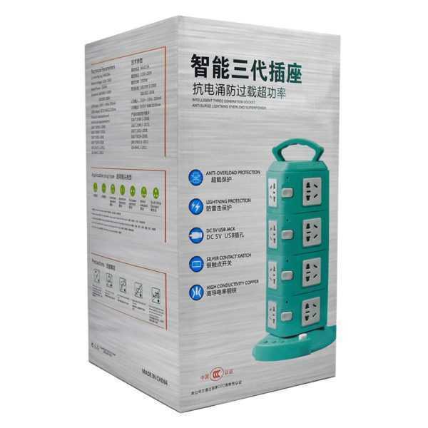 Torre multi-contacto ch6504