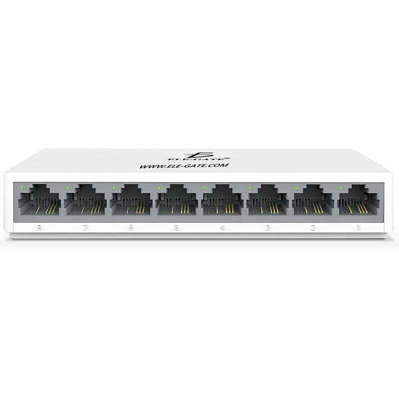 Switch rj45 8 con398 puertos red 100m