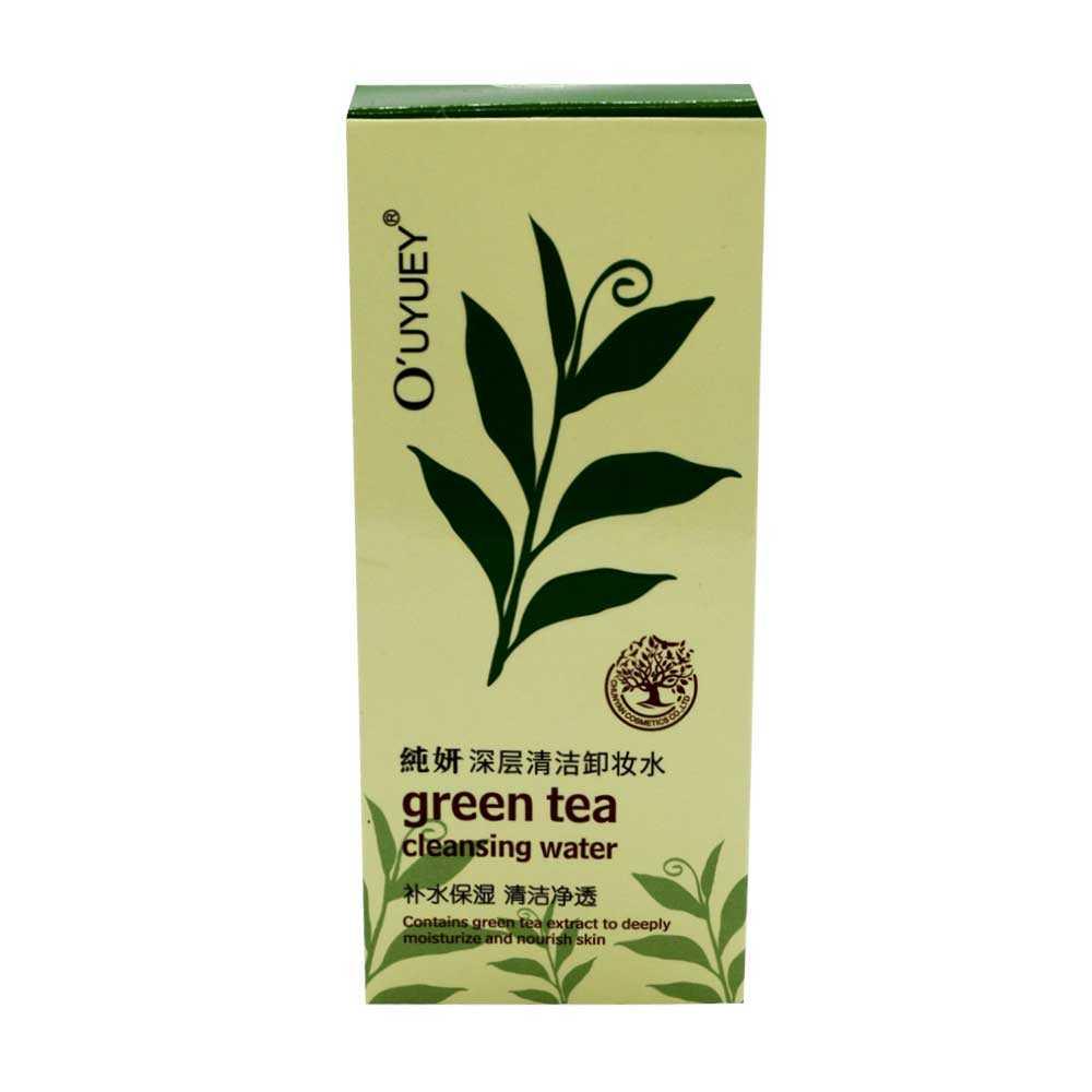 Agua de te verde para limpiar la cara ouyuey a006-1 / cy-2826
