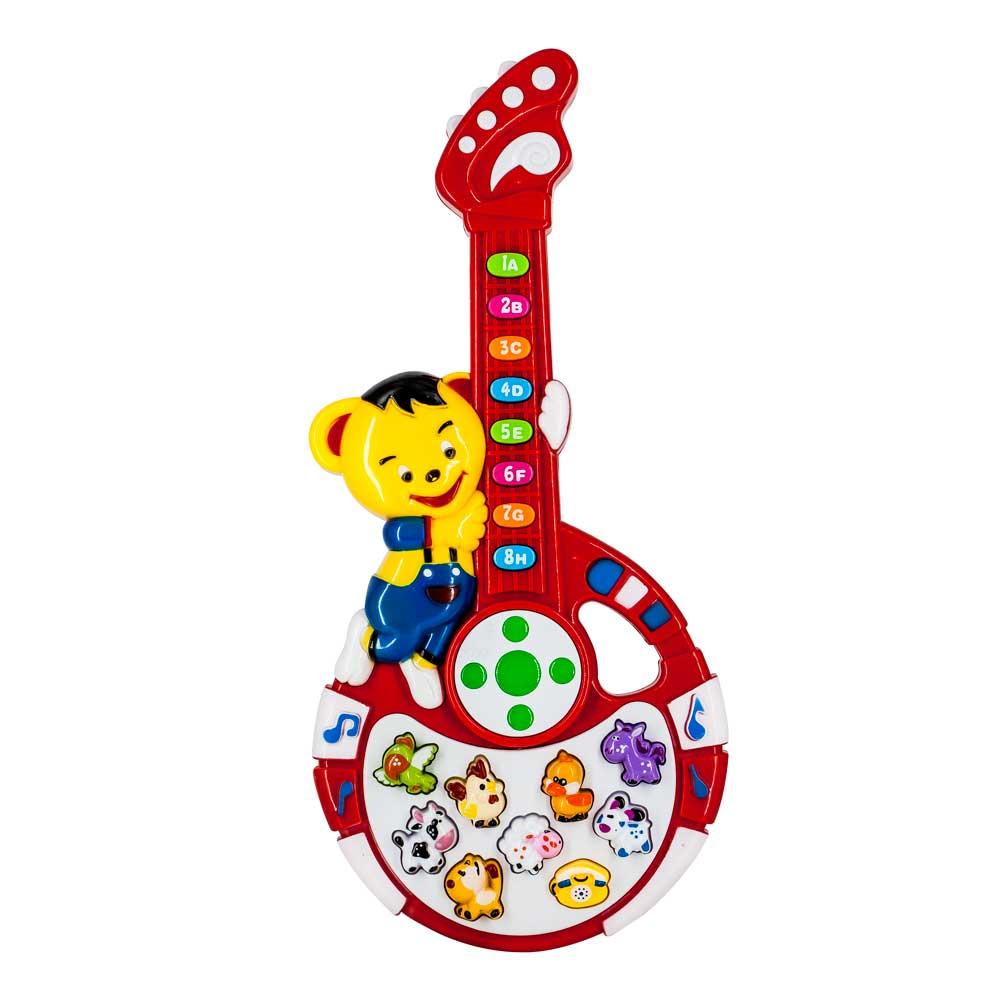 Guitarra musical que viva