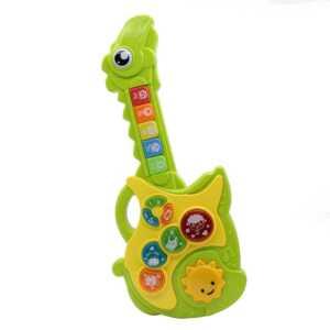 Guitarra musical siglo dinosaurio