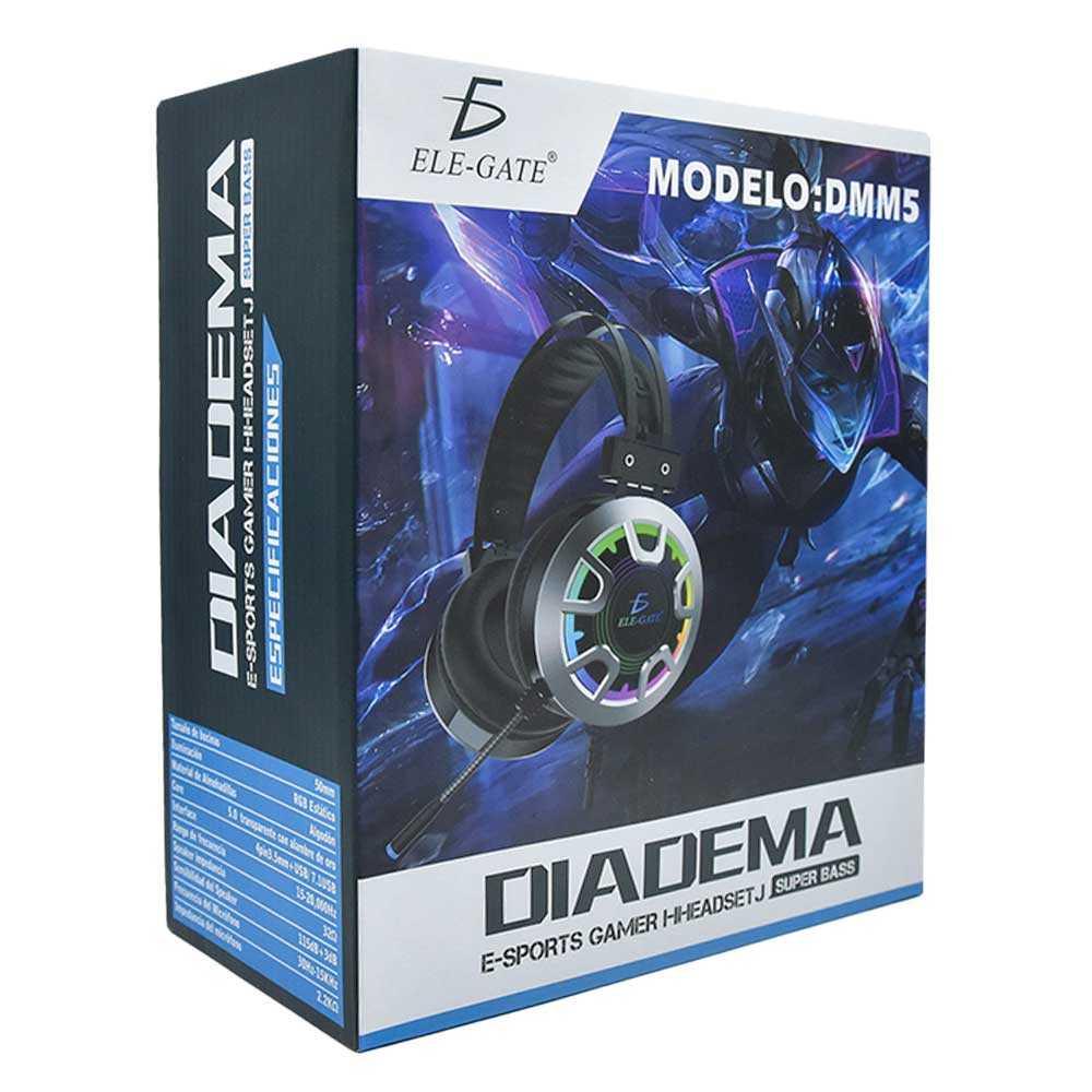Diadema gamer con microfono dm.m5