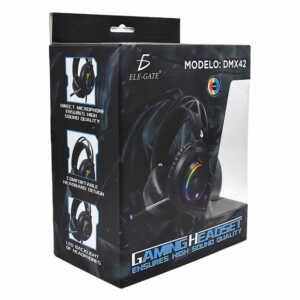 Diadema elegate / gaming headset / dm.x42