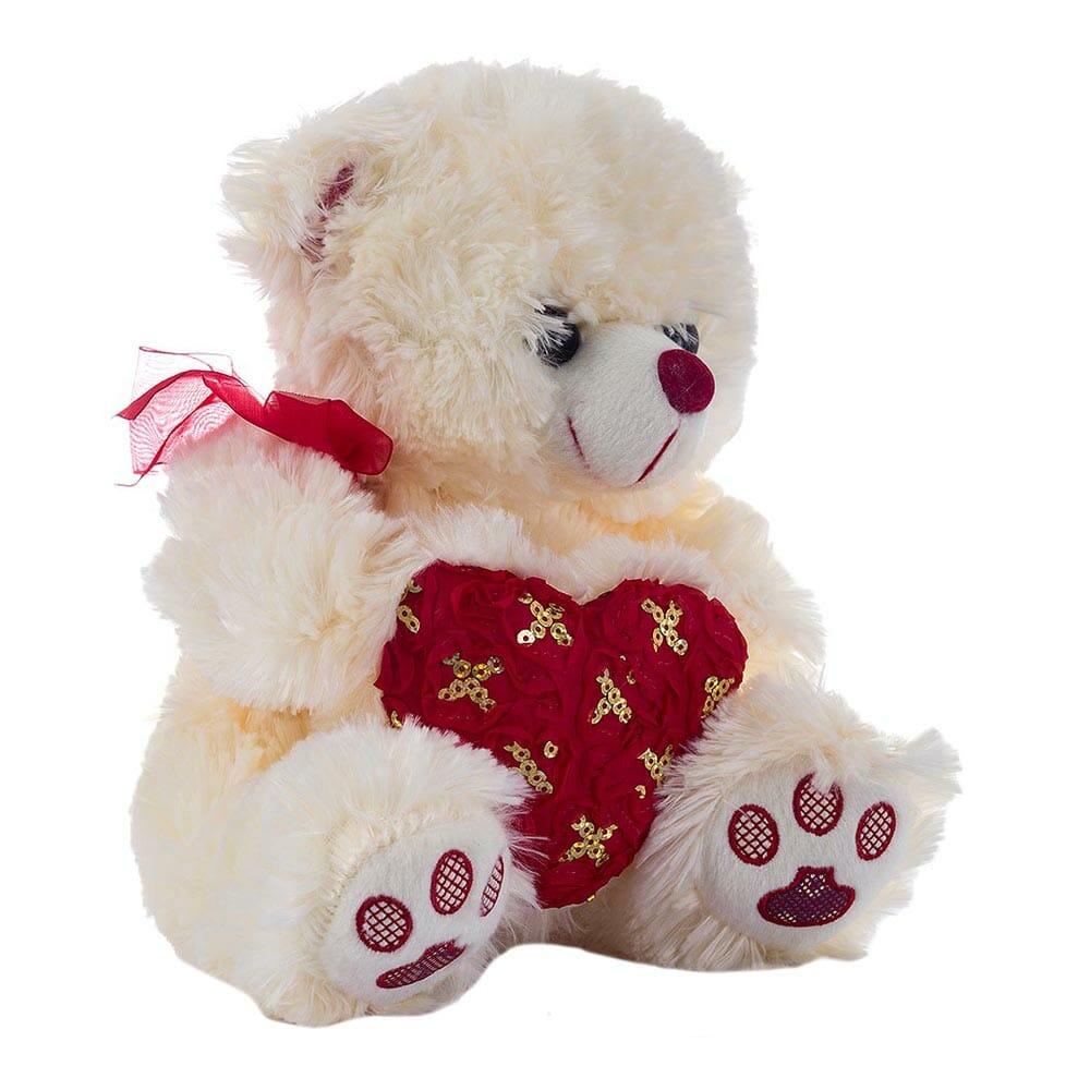 Peluche oso corazon ds1278-25