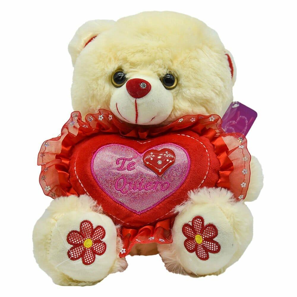 Peluche oso corazon ds15229-27