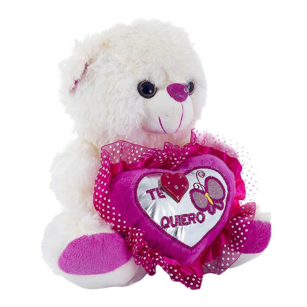 Peluche oso corazon ds15231-27