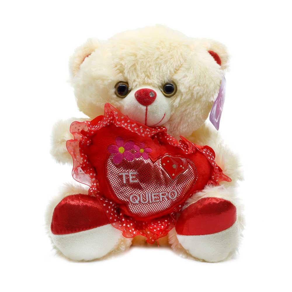 Peluche oso corazon ds15241-27