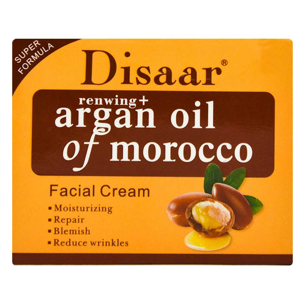 Crema facial de aceite de argan ds51912