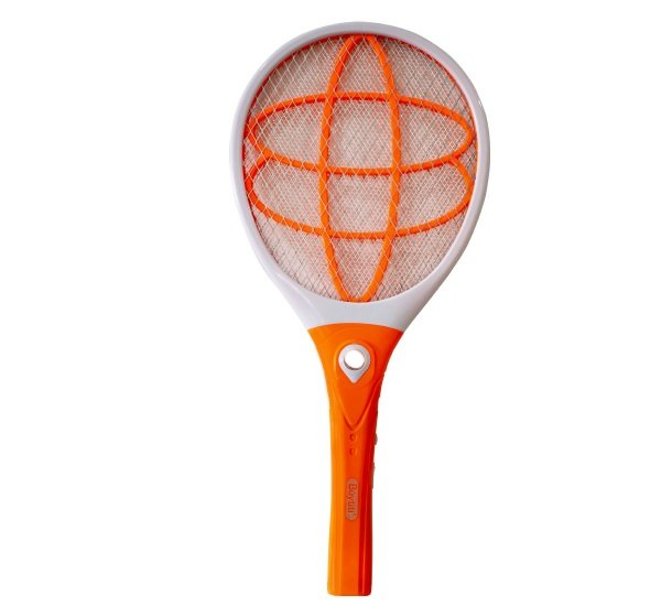 Raqueta mata mosquitos eléctrica diseño elipses