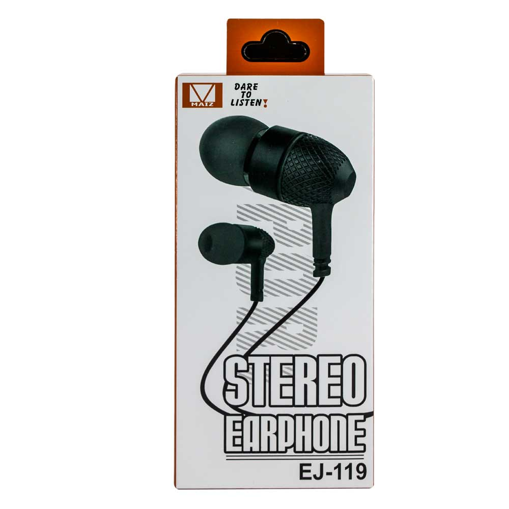 Audifonos stereo earphone ej-119