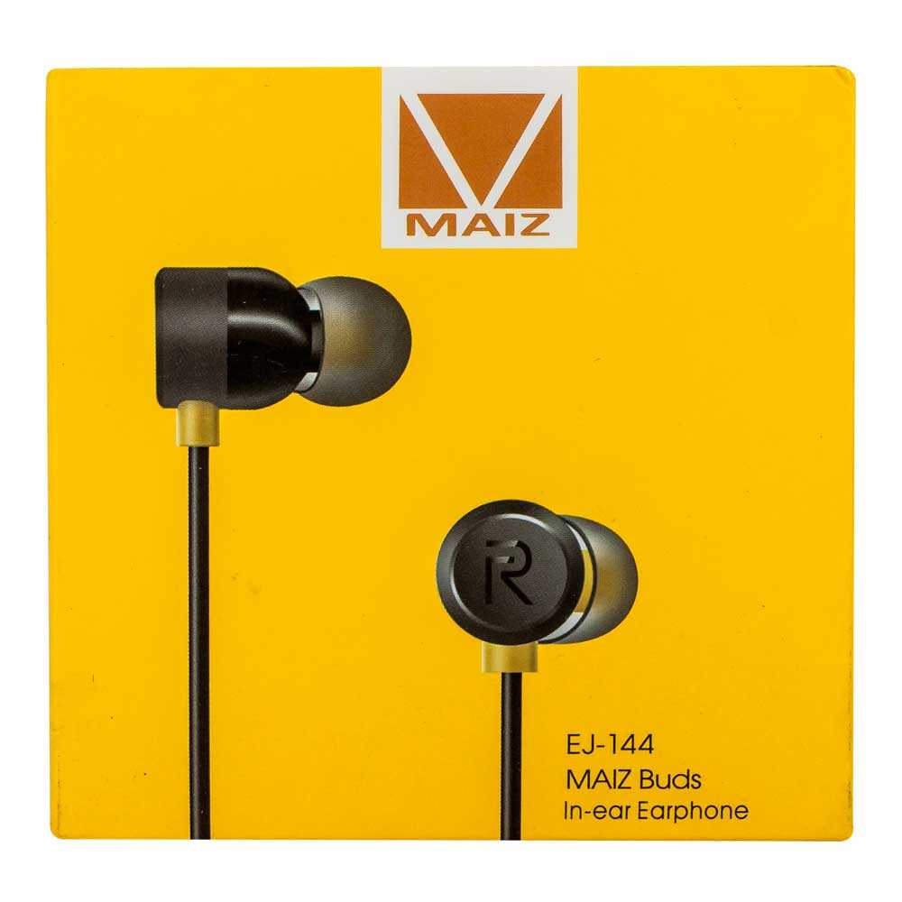 Audifonos maiz buds in ear earphone ej144
