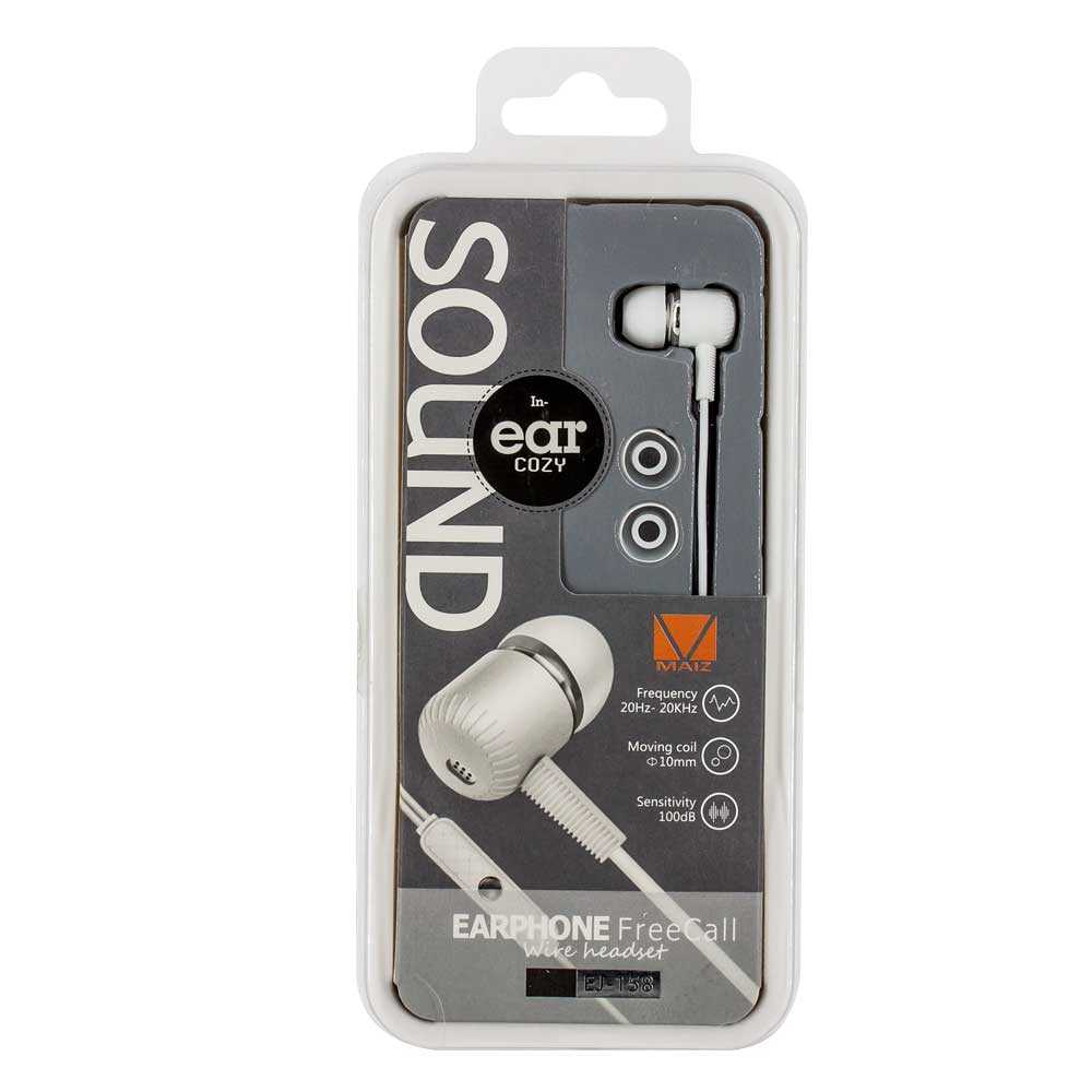 Audifonos sound in ear ej-158