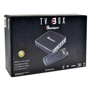 Tv box 4k blackpcs 1gb ram/8gb eo104k-bl
