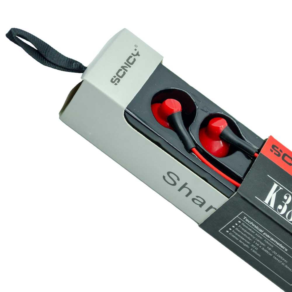 Audifono manos libres scncy marca xh k30 ez-38 hf