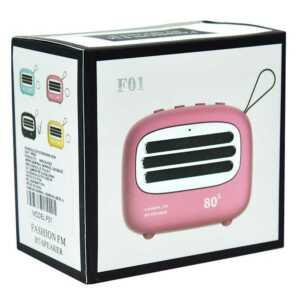 Bocina fashion fm bt-speaker f01